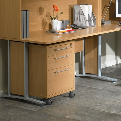 Tvilum Pierce Executive Desk Top with Metal Legs