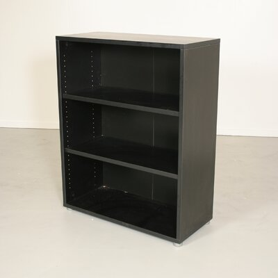 Tvilum Pierce Office Three Shelf Bookcase in Coffee