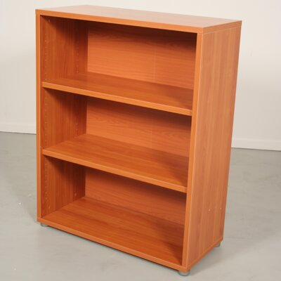 Pierce Office Three Shelf Bookcase in Light Cherry