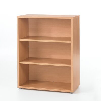 Pierce Office Three Shelf Bookcase in Beech