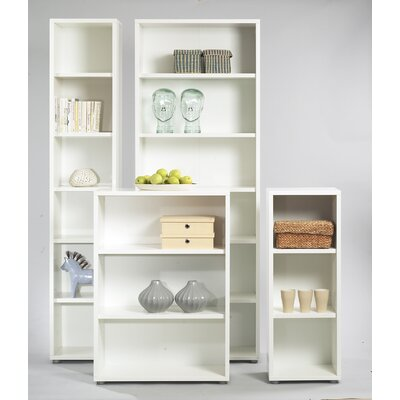 Tvilum Fairfax Short Narrow Bookcase in White