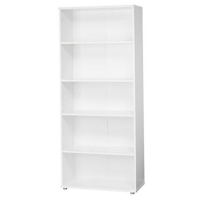 tall white bookcase wayfair. Black Bedroom Furniture Sets. Home Design Ideas