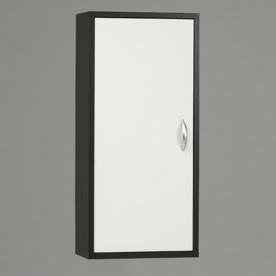Tvilum Oceana Wall Bathroom Cabinet with One Door and Two Shelves