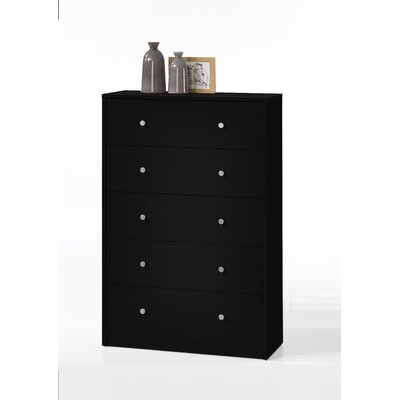 Tvilum Portland 5 Drawer Chest