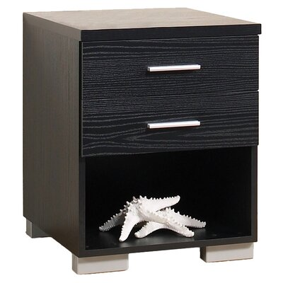 Tvilum Vancouver Bedroom 2 Drawer Nightstand