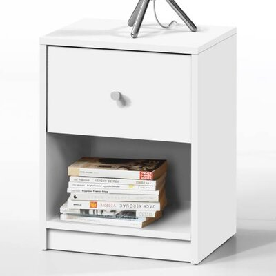 Tvilum Portland 1 Drawer Nightstand