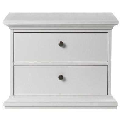 Tvilum Somerset 2 Drawer Nightstand