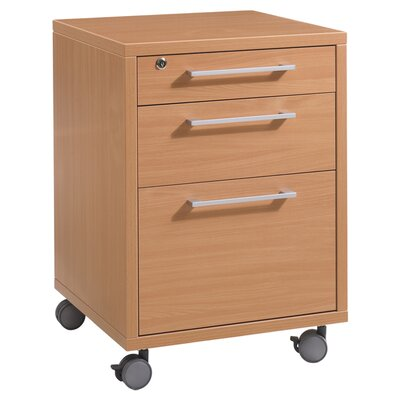 Tvilum Pierce 3-Drawer Mobile File
