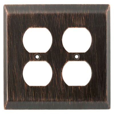 Brainerd Stately Double Duplex Wall Plate