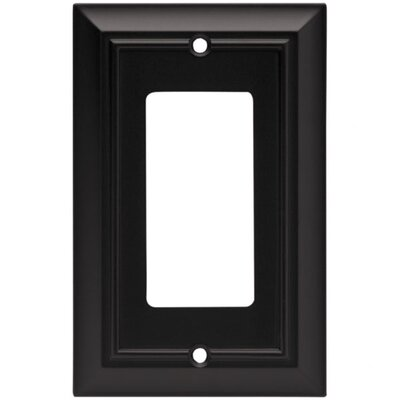 Architectural Single Decorator Wall Plate