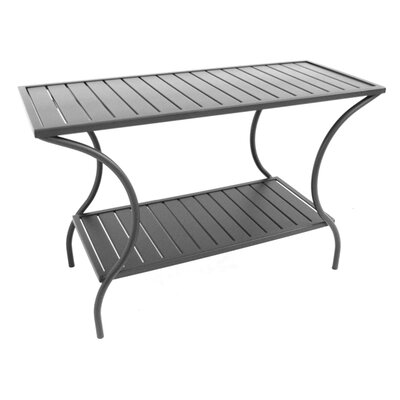 Meadowcraft Slat Console Table
