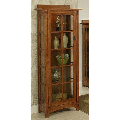 bungalow curio cabinet wayfair