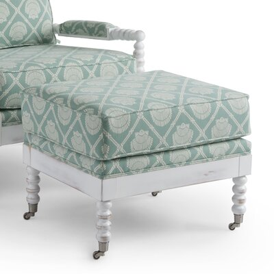 The High Point Chair Co Pawley Ottoman