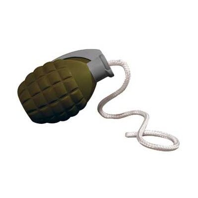 Tuffy's Pet Products Rugged Rubber Medium Grenade Dog Toy