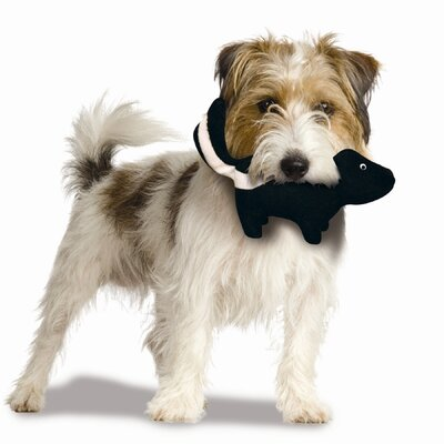 Tuffy's Pet Products Mighty Junior Nature Skunk Dog Toy