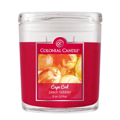 Peach Cobbler Jar Candle
