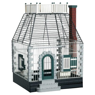 Prevue Hendryx Featherstone Heights Stone Cottage Keet/Tiel Home  Bird Cage