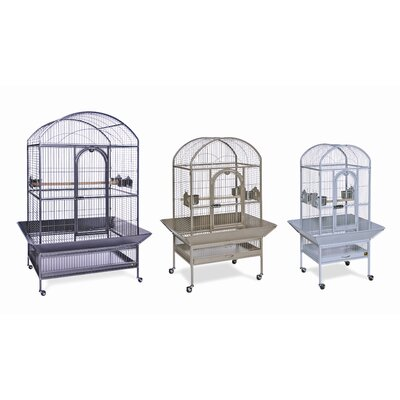 Signature Series Medium Dometop Wrought Iron Bird Cage