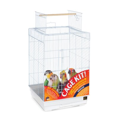Playtop Small Parrot Bird Cage Starter Kit