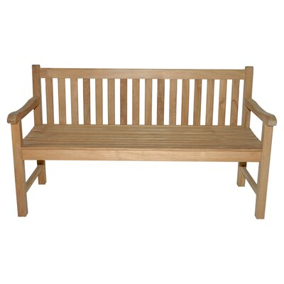 <strong>Regal Teak</strong> Teak Block Island Garden Bench