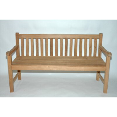 Regal Teak Teak Block Island Garden Bench