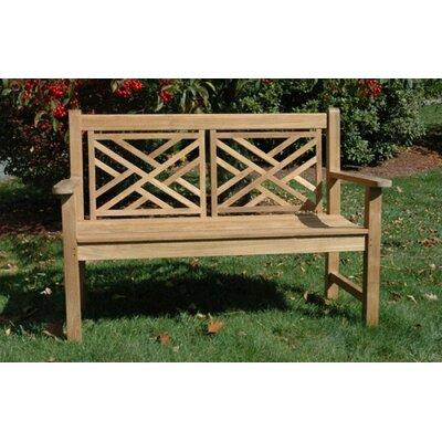 Regal Teak Teak Chippendale Garden Bench Reviews Wayfair