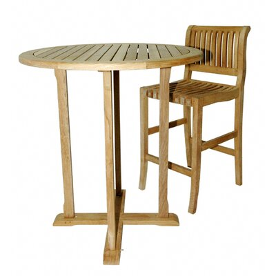 Regal Teak Pub Table Set
