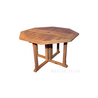 Regal Teak Collapsible Dining Table