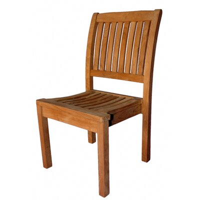 Regal Teak Stacking Side Chair