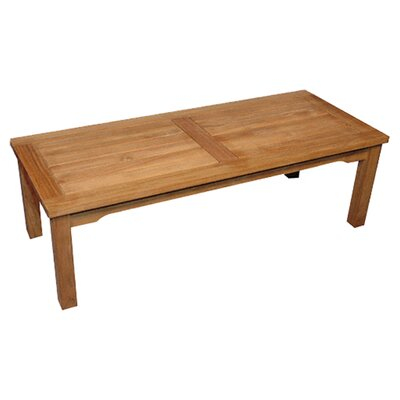 Regal Teak Mission Coffee Table