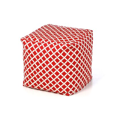 <strong>Chateau Designs</strong> Bamboo Bean Bag Cube