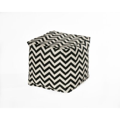 Chateau Designs Chevron Bean Bag Cube
