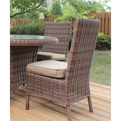 Del Ray Wicker Side Chair