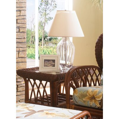 Havana Wicker End Table