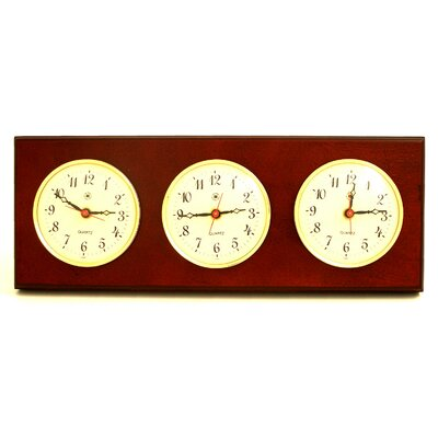 Bey-Berk Multizone Wall Clock