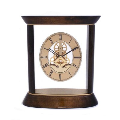Bey-Berk Miami Skelton Movement Clock