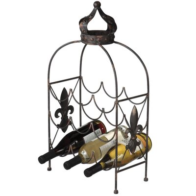 CBK Crown 9 Bottle Table Top Wine Rack