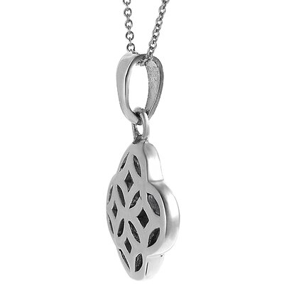 Tressa Collection Sterling Silver Celtic Unity Knot Pendant