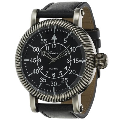 Geneva Platinum Men's Vintage Watch