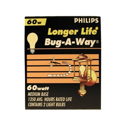 Philips Home and Healthcare Solutions Bug-a-Way Longer Life Light Bulb (Pack of 2)