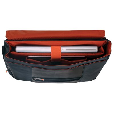 Mancini Sportex-2 Laptop Messenger Bag
