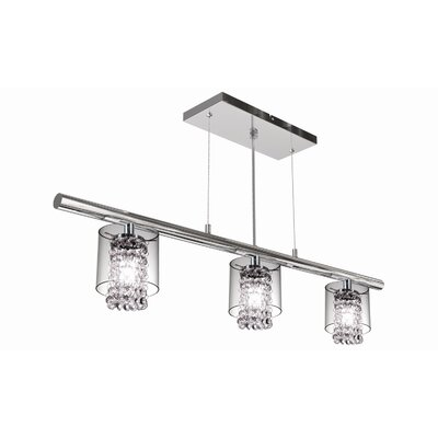 Bazz Topaz 3 Light Kitchen Island Pendant