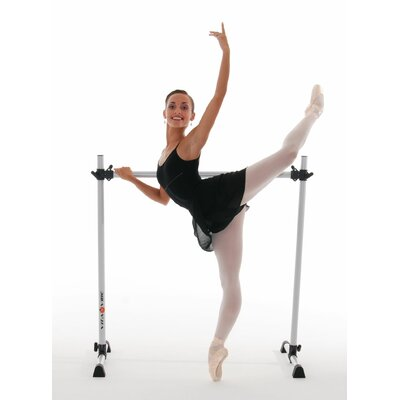 Vita Vibe Prodigy Series Modern Aluminum Single Bar Ballet Barre-n-Bag Kit