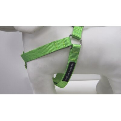 Chief Furry Officer Solid Webbing Dog Harness