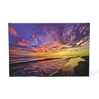 David Liam Kyle 'The Sunset' Gallery-Wrapped Canvas Wall Art