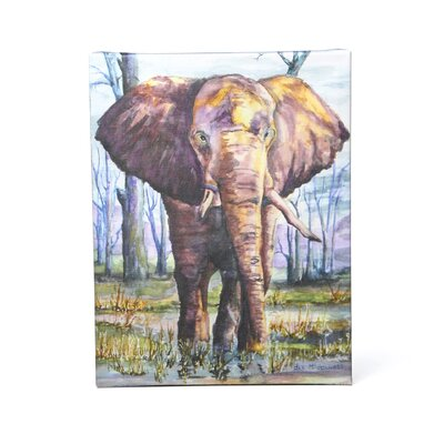 Art Wall Dan McDonnell ''Elephant'' Canvas Art