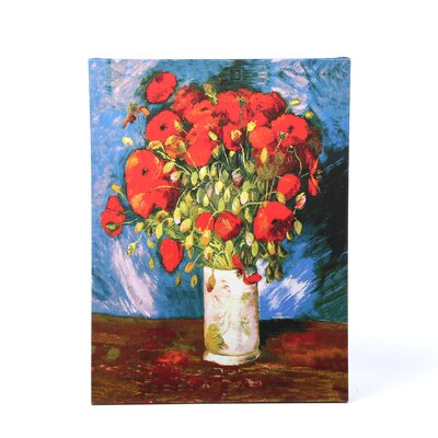 <strong>Art Wall</strong> Vincent Van Gogh ''Poppies'' Canvas Art