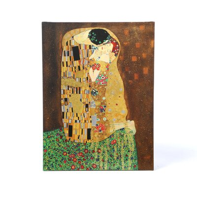 <strong>Art Wall</strong> Gustav Klimt ''The Kiss'' Canvas Art