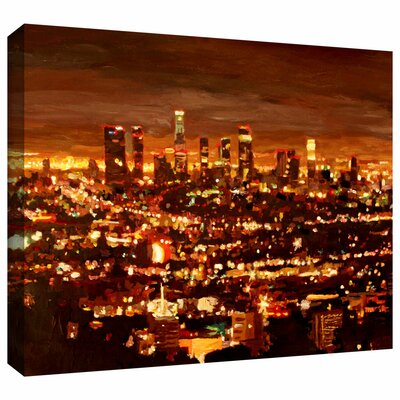 'City of Angels' by Martina and Markus Bleichner Gallery Wrapped on Canvas