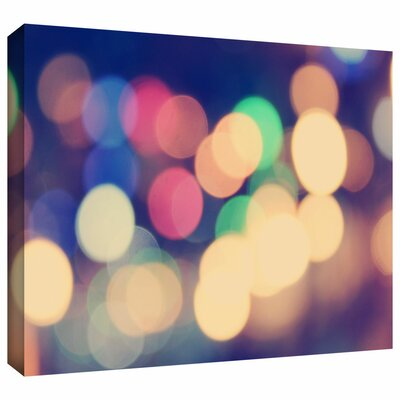 'Blurred Lights' by John Black Gallery-Wrapped on Canvas